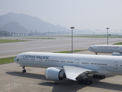 Cathay Pacific and Dragonair resume flight operations