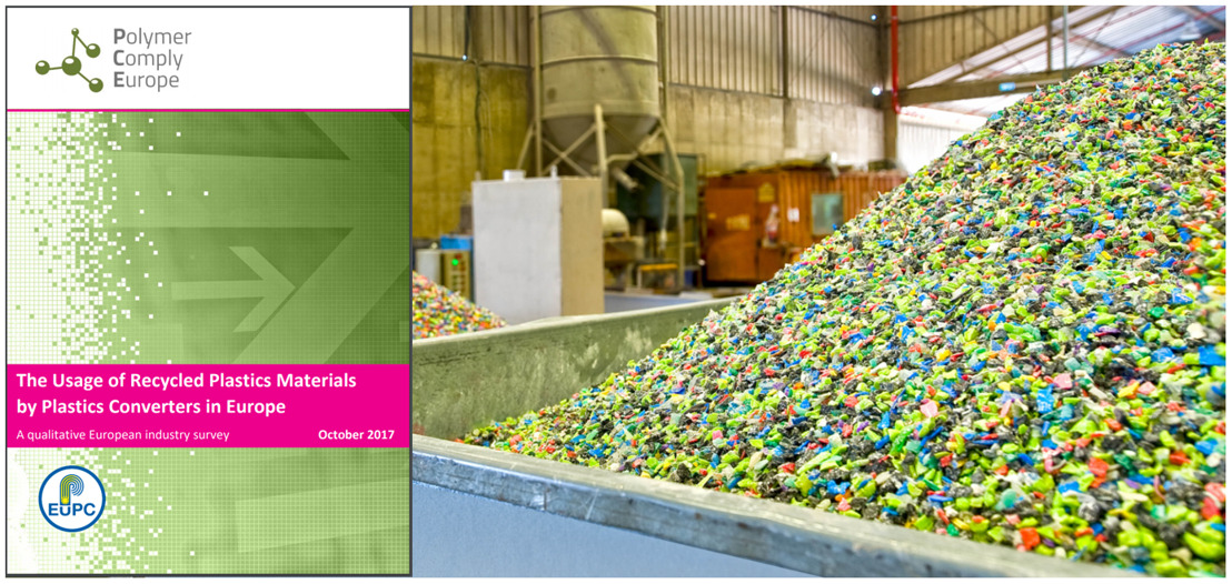 EuPC publishes results of its survey on the use of recycled plastics materials