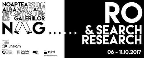 Programul Search & Research RO continuă și anul acesta în cadrul Nopții Albe a Galeriilor NAG. La finalul acestui program, marți, 10 octombrie, începând cu ora 16:00 va avea loc o discuție publică cu invitații la Rezidența BRD Scena 9.