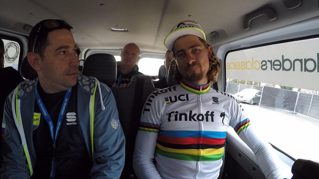 Peter Sagan<br/>De ronde 100 (c) VRT
