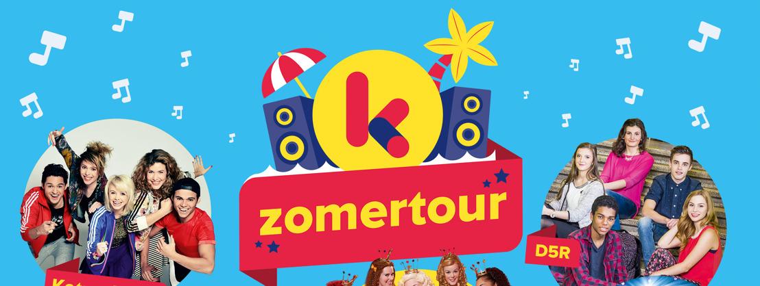 De Ketnet Zomertour trekt door Vlaanderen
