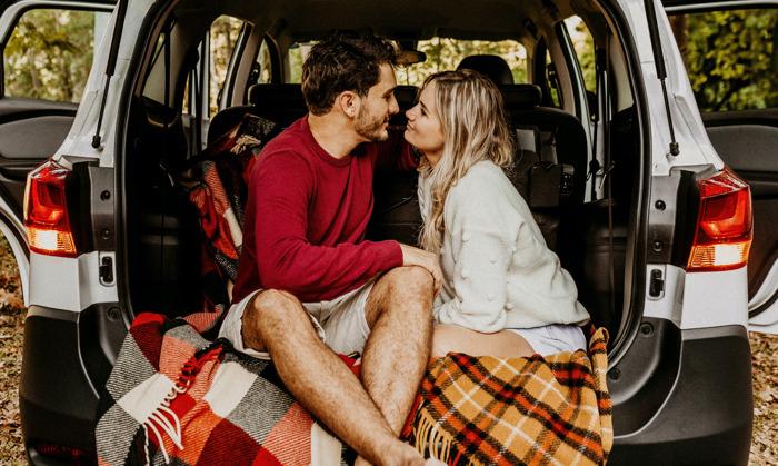 4 románticas ideas para una cita de San Valentín perfecta en tu automóvil