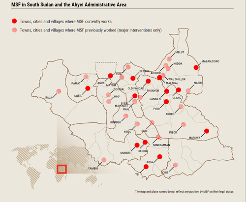 South Sudan: An MSF record of the consequences of violence since independence
