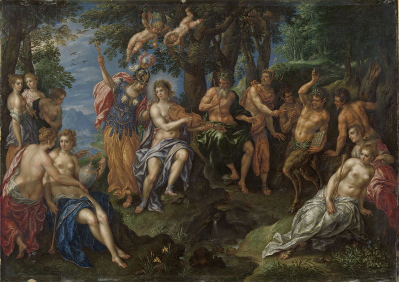 Hendrick De Clerck, The Judgement of Midas © Rijksmuseum, Amsterdam