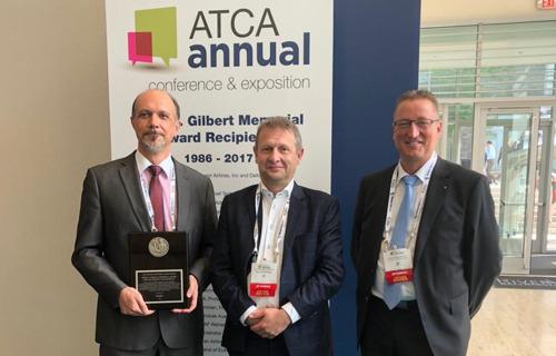 Johan Decuyper receives prestigious ATCA award in US