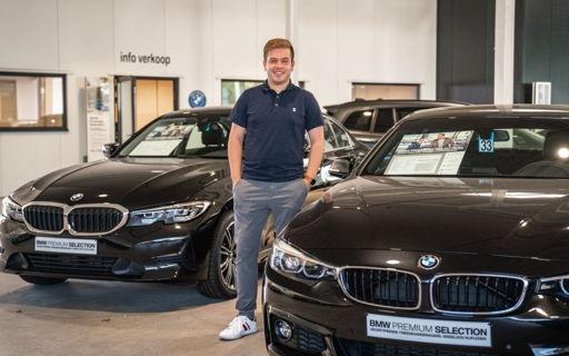 Met een diploma Automotive Management op zak doet Jorne nu waar hij als kind al van droomde.
