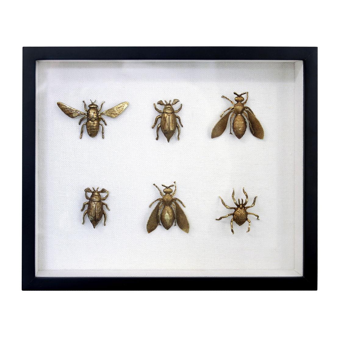 HK Living Messing Insecten Lijstje €89
