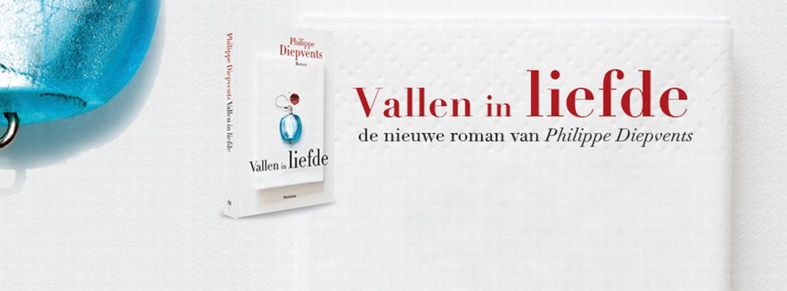 'Vallen in liefde': de nieuwe roman van Philippe Diepvents
