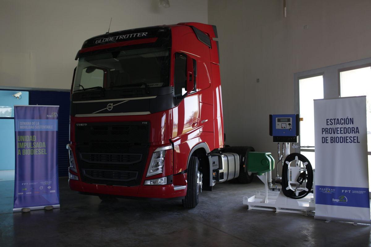 Estación proveedora de biodiesel.