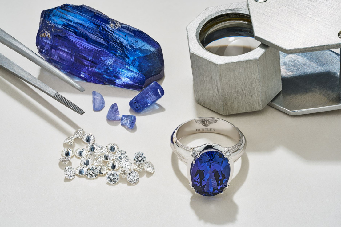 RARE GEMSTONES BRING A GLEAM OF COLOUR TO BENTLEY'S LUXURY JEWELLERY COLLECTION