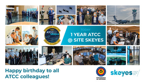Anniversary of successful cooperation between civil and military air traffic controllers in Steenokkerzeel