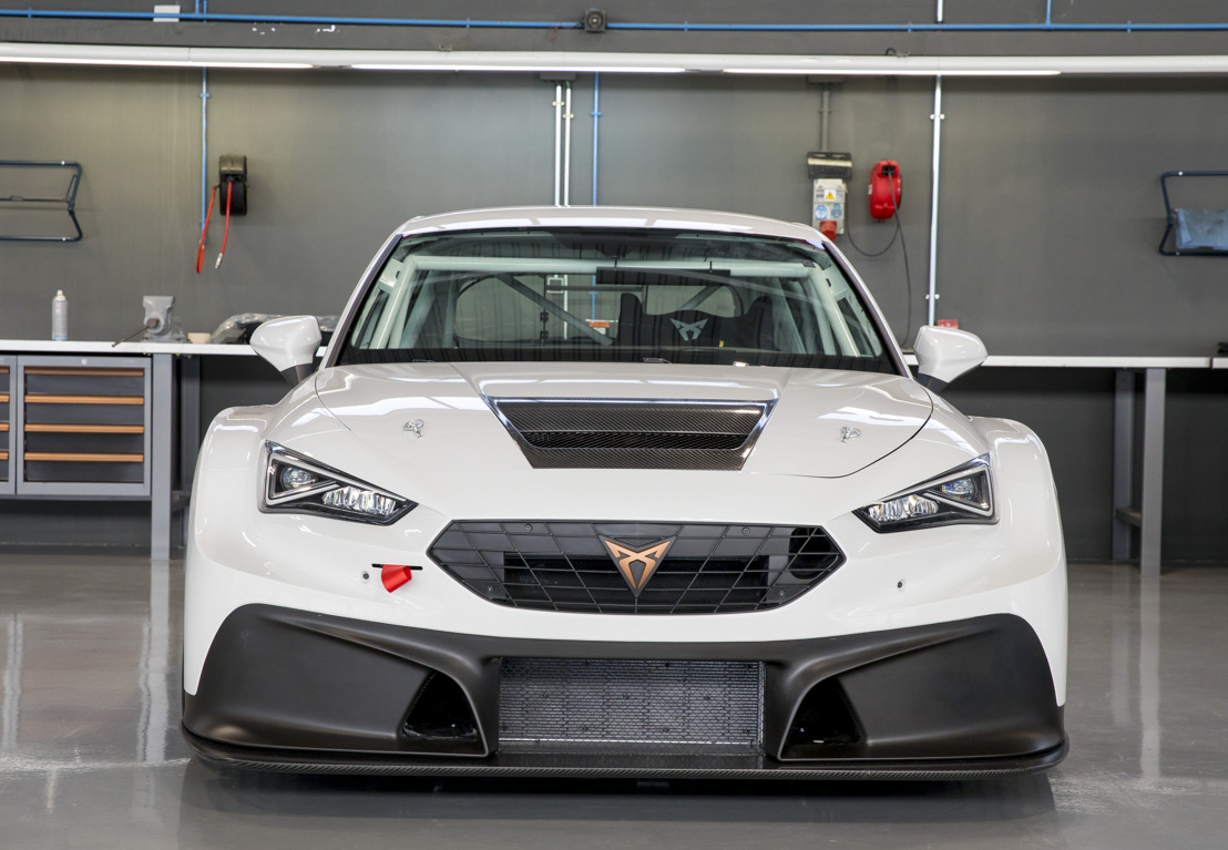 The CUPRA Leon Competición wins its racing debut in Mugello