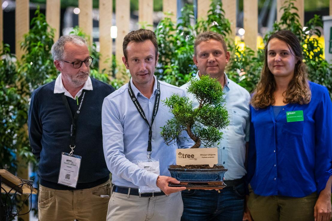 1.2.Tree Award Winnaar publiek project: Jos De Wael, Marc Vanallemeersch, Lieven Vereecke, Ludovine Vankerckhove © Green