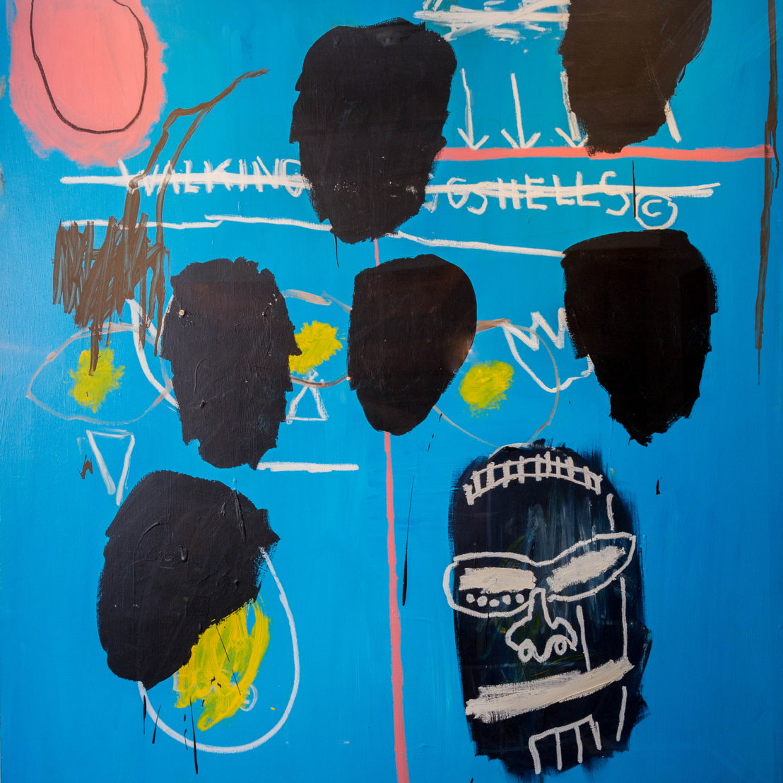 """Untitled"" (1984) by Jean-Michel Basquiat"