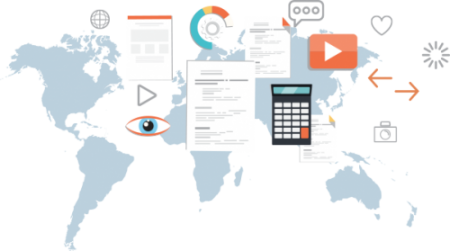 International companies can share and check profiles across countries.