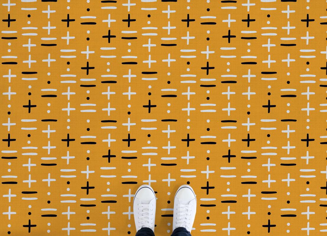 Khan |   <br/>African Pattern Vinyl Flooring