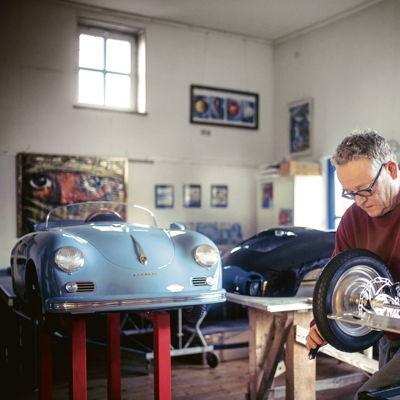 Bernd Pennewitz, productor de autos a escala