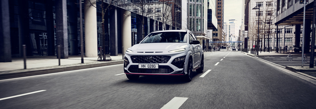 Un vrai SUV «hot»: Hyundai Motor dévoile le All-New KONA N
