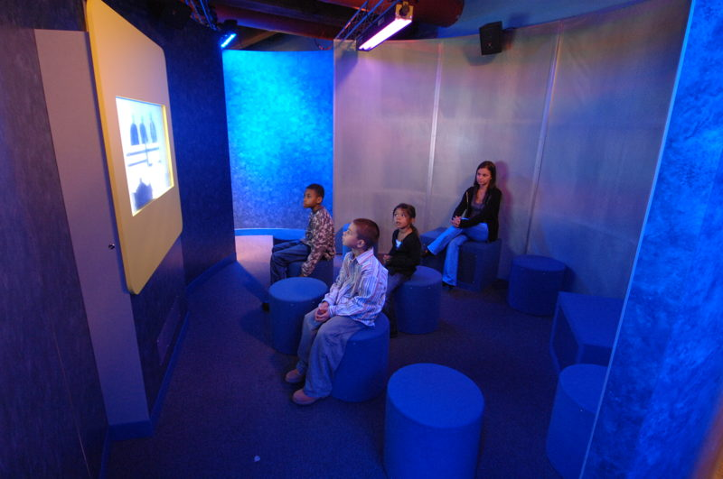 JBL®-equipped Surround Sound Theater (Photo Credit: Boston Children's Museum)