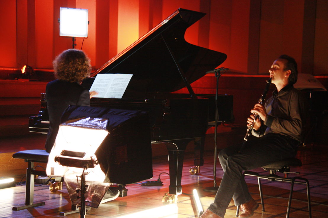 Julien Libeer en Benjamin Dieltjens - (c) VRT