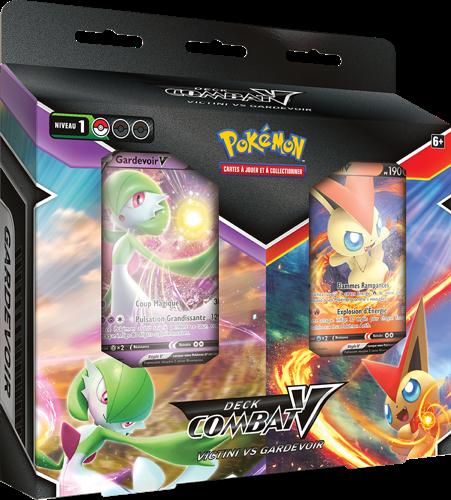 De nouveaux Decks Combat-V du Jeu de Cartes à Collectionner Pokémon aident les Dresseurs à améliorer leurs compétences