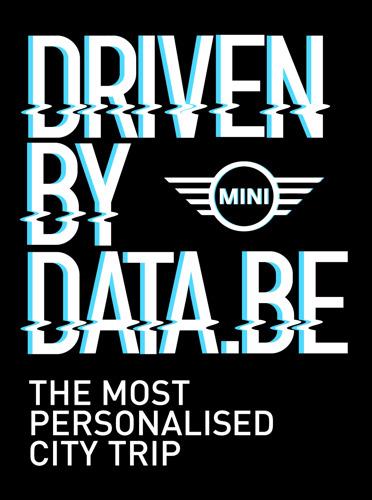 TBWA en MINI laten jou een andere kant van BXL ontdekken met 'Driven by Data'