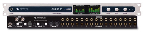Ferrofish Offers US Broadcasters Proper Headroom with New Pulse16 Series +24dBu 1/O Converter
