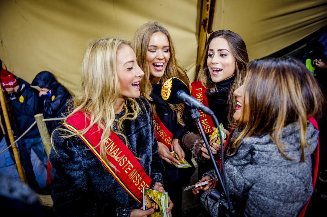 Miss België-kandidates kondigen hun actie aan (c) VRT - Thomas Geuens