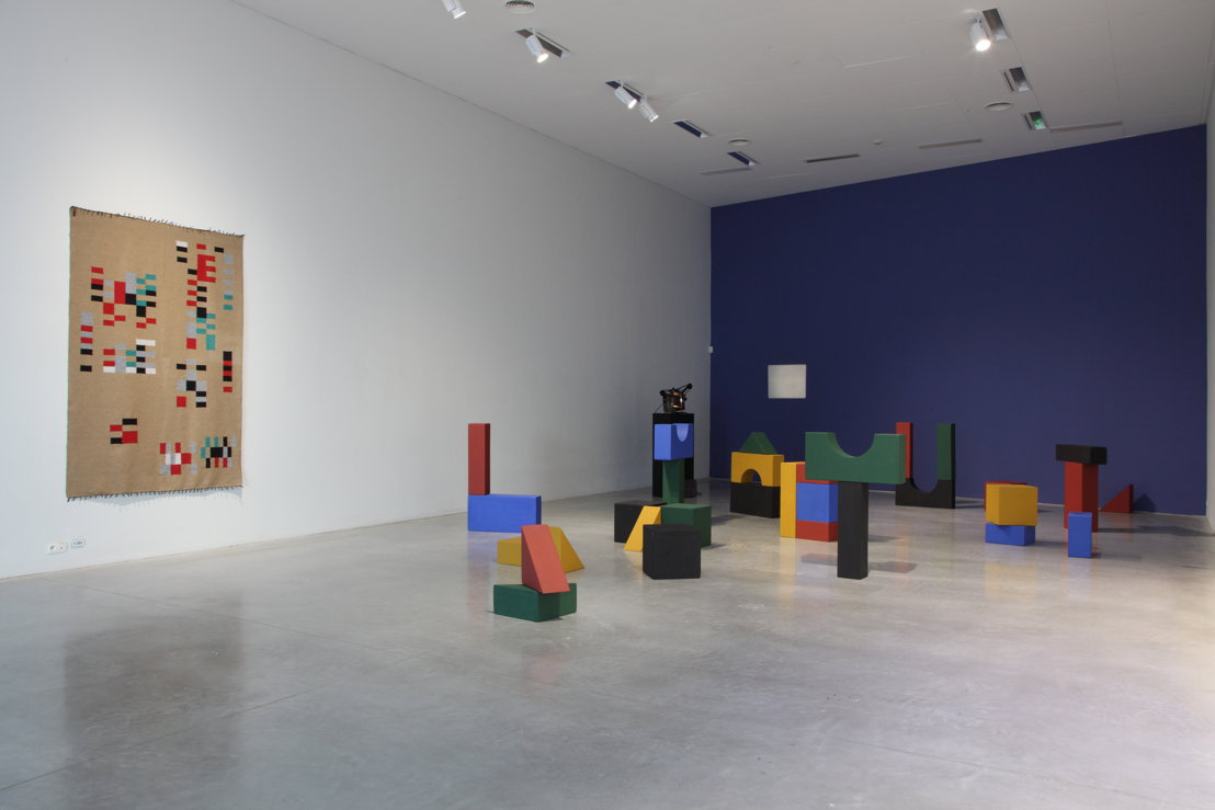 Yto Barrada. Lyautey Unit Blocks, 2010. Courtesy the artist and Sfeir-Semler Gallery, Hamburg/Beirut<br/>Foto (c) Dirk Pauwels