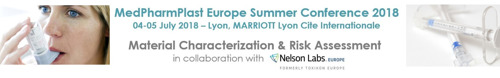 Only three weeks to go: MedPharmPlast Europe conference on 4-5 July 2018 in Lyon