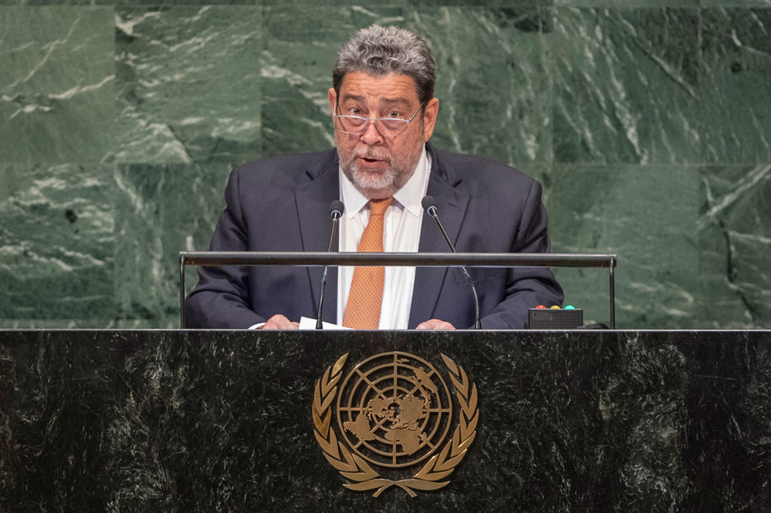 Address by Dr. the Hon. Ralph Gonsalves Prime Minister of Saint Vincent and the Grenadines at the general debate of the 74th Session of the General Assembly of the UN