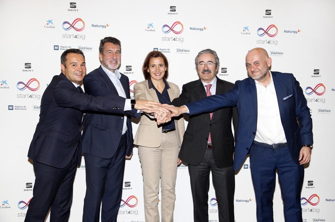 Aigües de Barcelona, CaixaBank, Naturgy, SEAT et Telefónica ont uni les forces