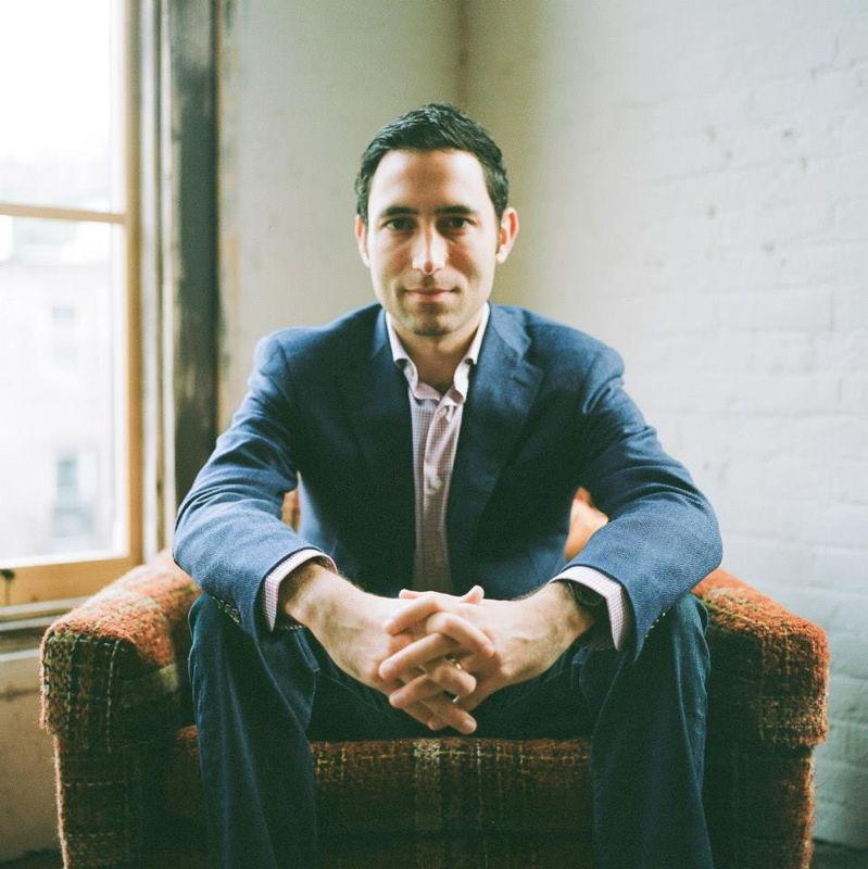 Scott Belsky, portret by Maykel Loomans
