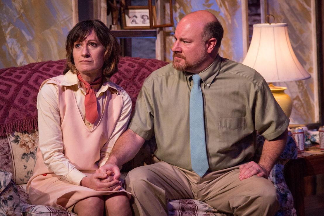 BOY actors Daryl Lisa Fazio (l) and Matt Lewis (r) - photo by David Woolf