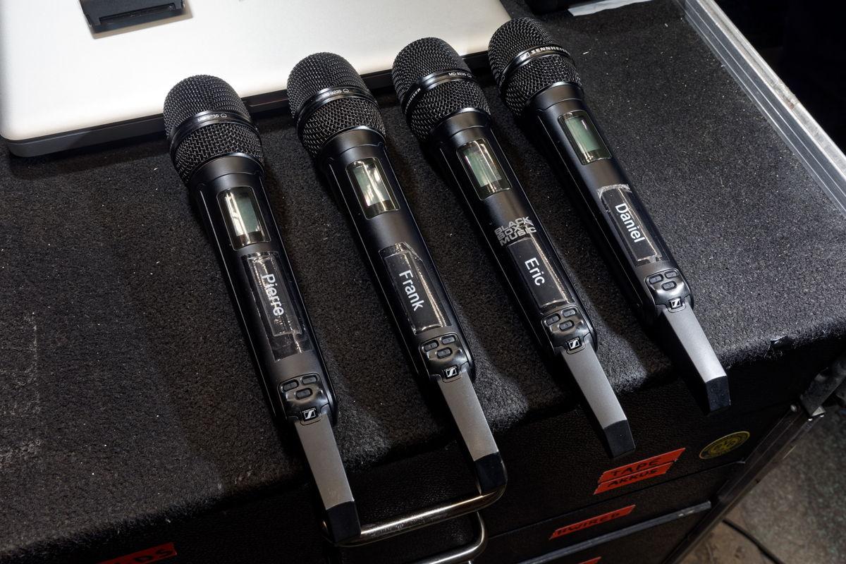 Die Sennheiser Digital 6000 Systeme ermöglichen es, eine hohe Kanaldichte betriebssicher in einem begrenzten Frequenzrahmen unterzubringen