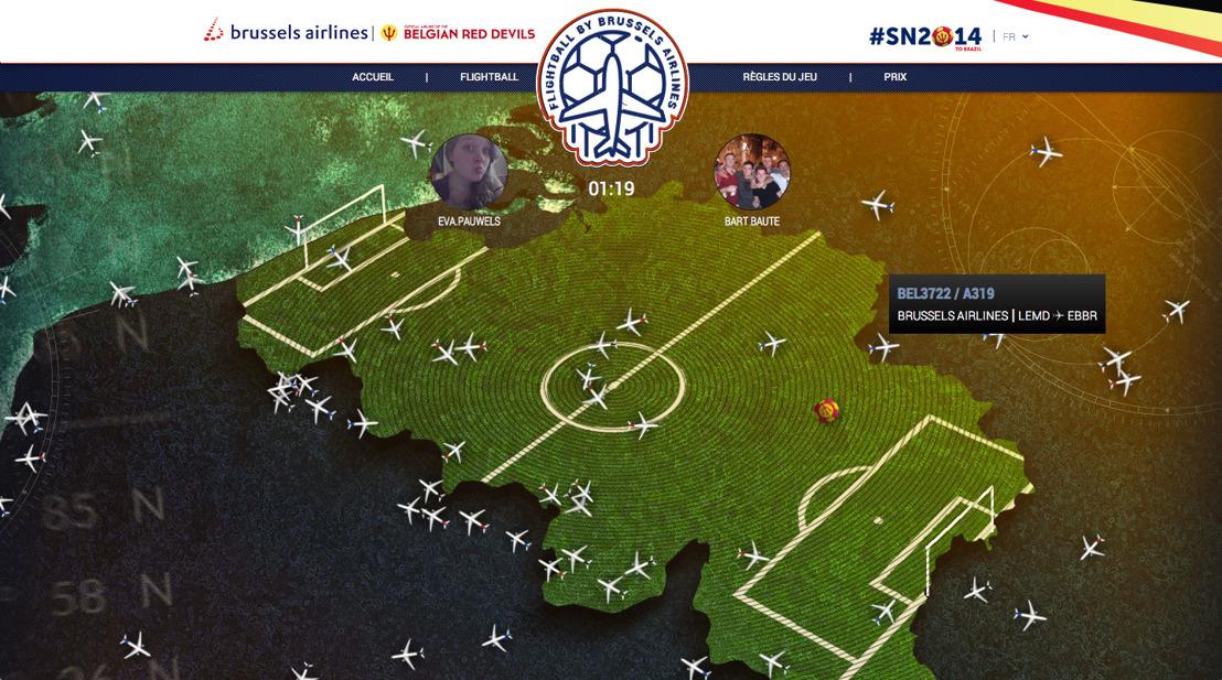 BBDO et Brussels Airlines donnent le coup d'envoi de Flightball