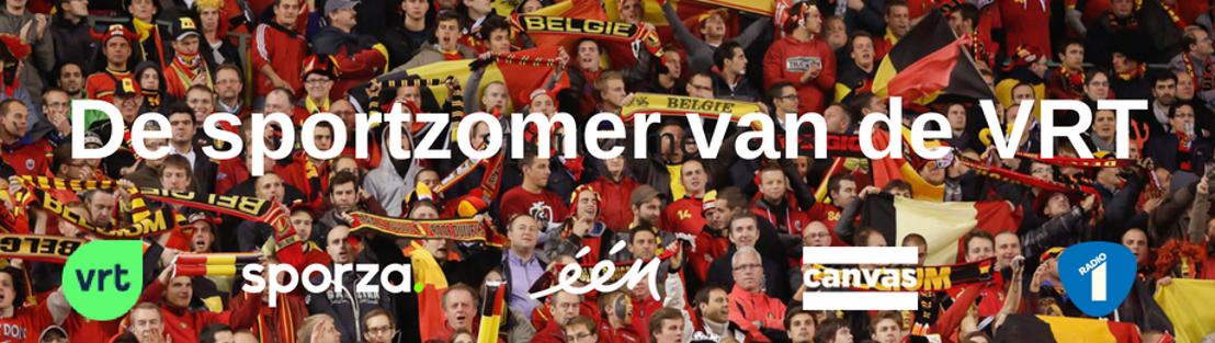 De sportzomer van de VRT: het WK voetbal, de Tour, de European Championships en nog veel meer
