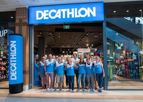 Kleinste Decathlon van België geopend in Waasland Shopping Center