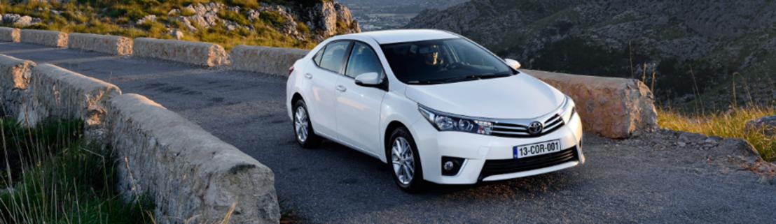 Nouvelle liste de prix Toyota