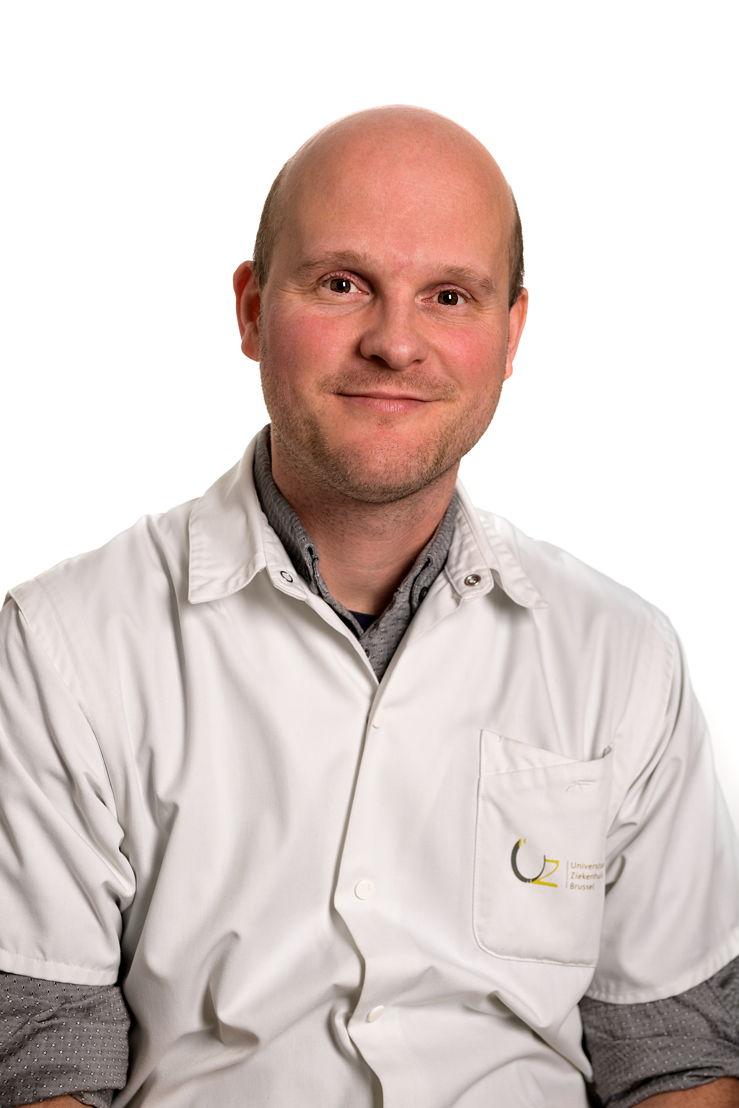 Prof. Steven Droogmans, chef dy service cardiologie à l'UZ Brussel