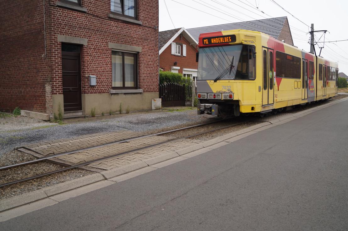 Travaux de rénovation à Anderlues : itinéraire adapté des navettes de bus entre les stations Pétria et Monument (lignes M1-M2)