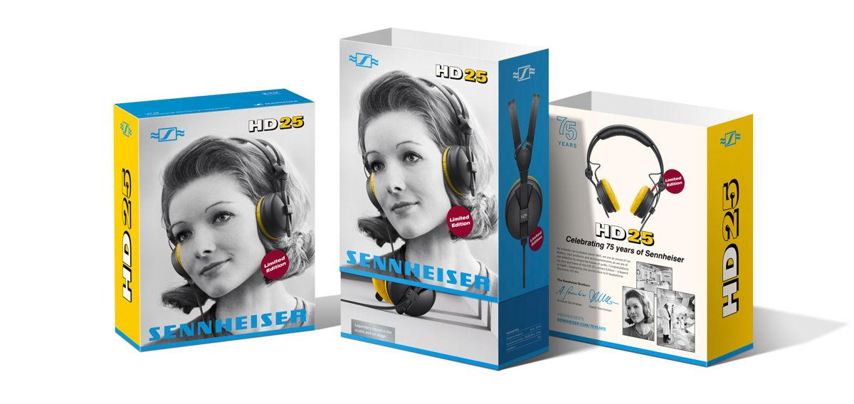 Boite rétro du HD 25 Limited Edition