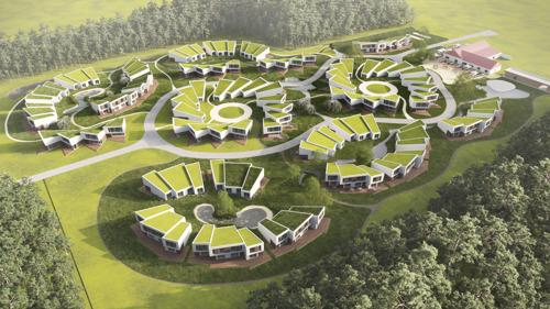 Nieuw Roompot park in Hechtel-Eksel wordt het meest duurzame park van België
