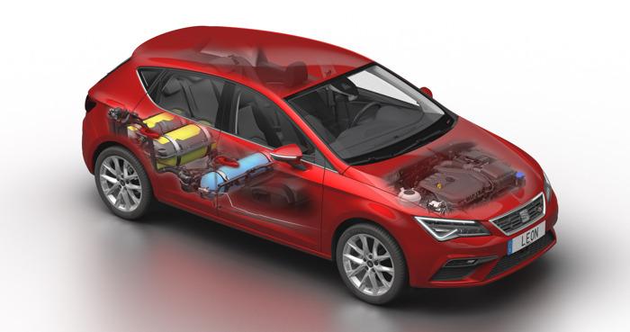 Leon 1.5 TGI Evo-motor op CNG voor betere prestaties en meer efficiëntie