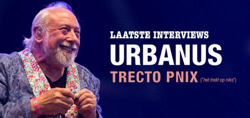 Laatste shows van Urbanus in Vlaanderen