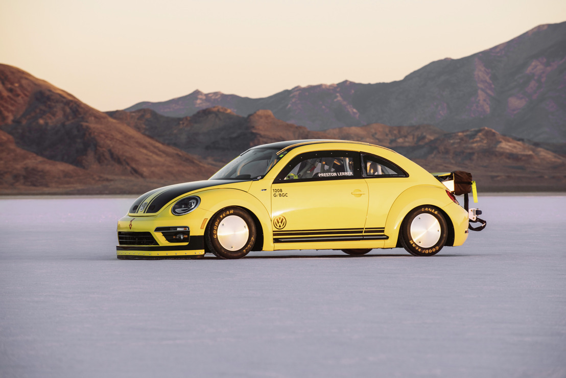 328 km/h, la Beetle la plus rapide au monde !