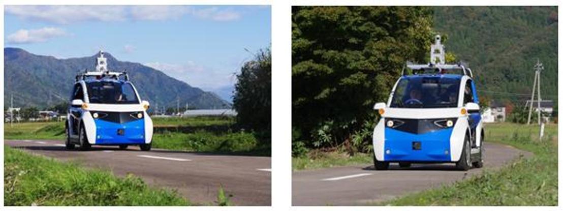 Panasonic inicia pruebas de campo con un vehículo autónomo para transporte público en el poblado japonés de Eiheiji