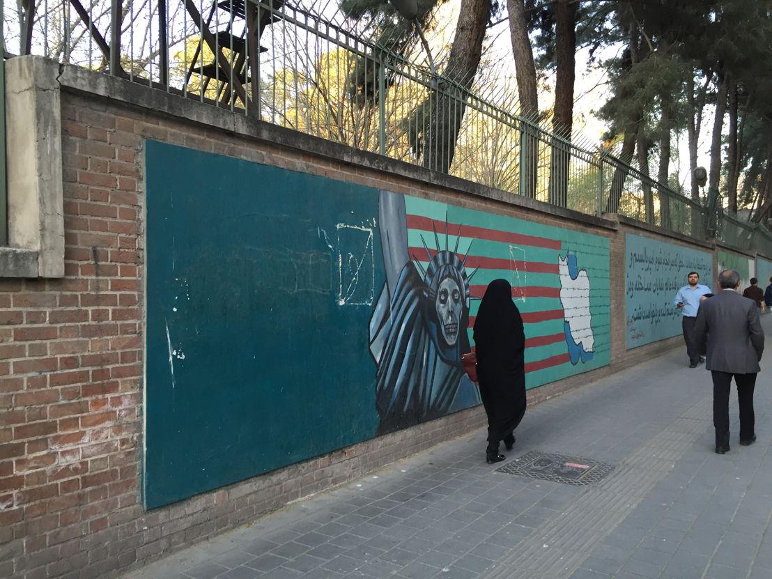 Anti-American propaganda, Tehran
