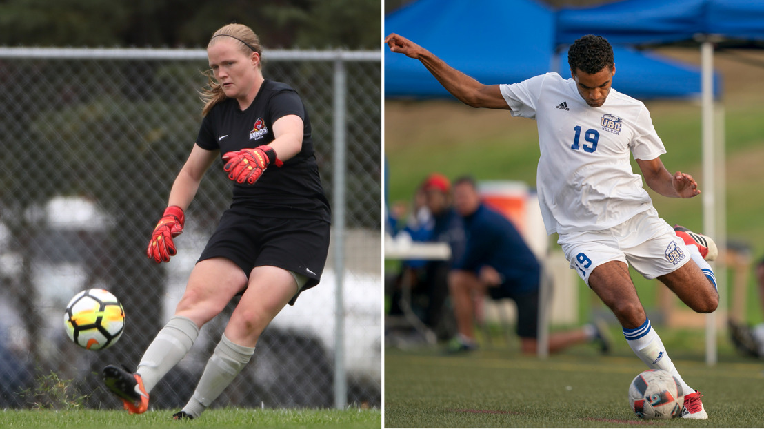 CW three stars: Soccer standouts Houghton, Clarke honoured