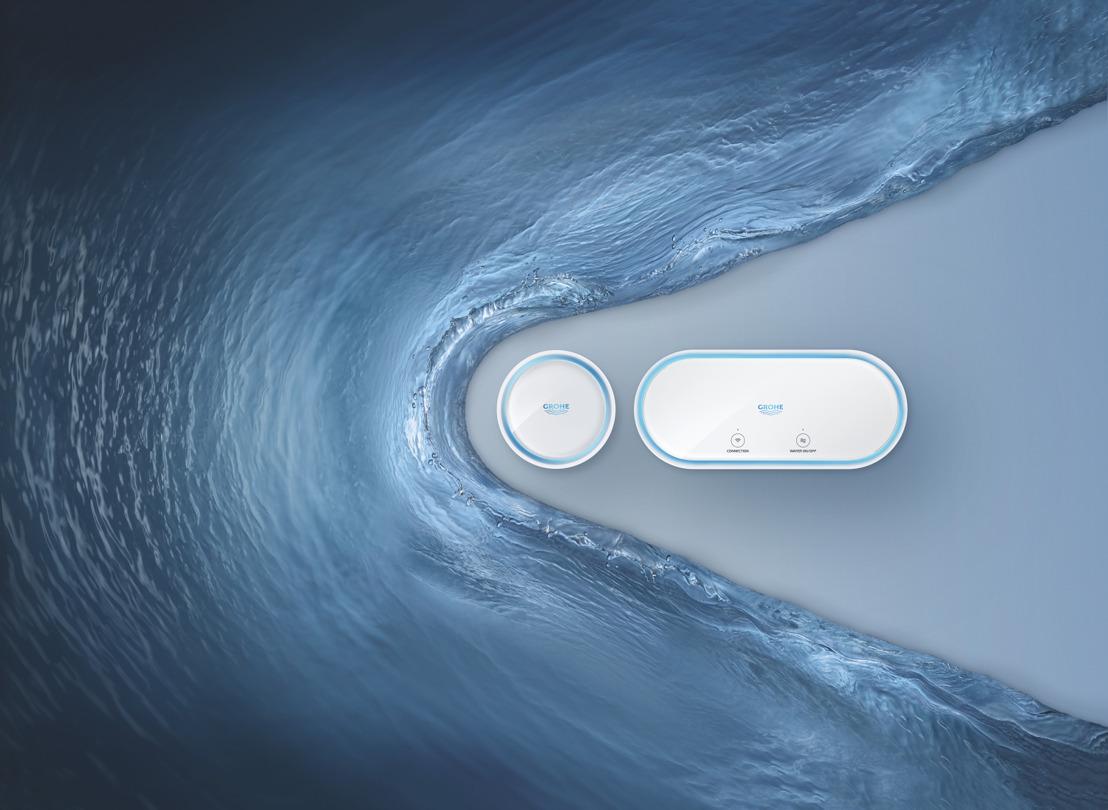 GROHE réfléchit à l'avenir des assurances dégâts des eaux avec les innovations Sense et Sense Guard